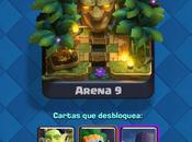 Repasamos nueva arena Clash Royale (Selvática) nuevas cartas