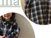 Vestido para niña reciclando camisa