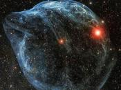 Sharpless 2-308, burbuja cósmica