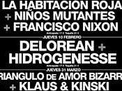 Crónica Delorean+Hidrogenesse. Ciclo Conciertos Pop&Dance.; Sala Rock Kitchen, jueves febrero 2011