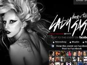 Premier Lady Gaga 'Born This Way'