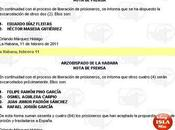 Autoridades cubanas continúan excarcelación contrarrevolucionarios audio)