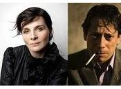 Mathieu Amalric Juliette Binoche unen reparto Cosmópolis David Cronenberg