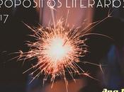Propósitos literarios 2017