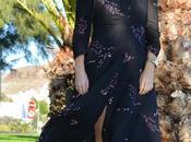 Outfit vestido largo zara