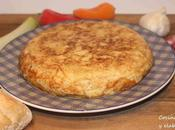 Tortilla patatas, calabacin puerro
