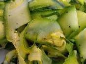 Calabacin vinagreta Vinaigrette zucchini