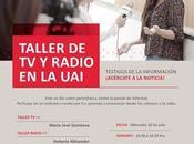 Invitación Taller RADIO Universidad Adolfo Ibañez Viña Mar.
