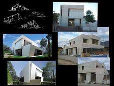 Imágenes obra vivienda diseñada a-cero oeste madrid