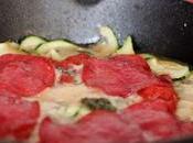 Pizza Calabacín, Salami Gorgonzola
