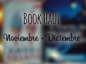 Book Haul: Noviembre Diciembre 2016