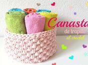 Cestos Trapillo crochet