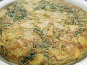 Receta tortilla patatas kale
