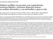 Diabetes mellitus personas esquizofrenia, trastorno bipolar depresivo Vancampfort col.