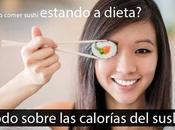 Calorías sushi ¿Puedo comerlo estando dieta?
