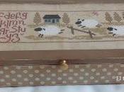JARDIN PRIVÉ: HISTOIRES MOUTONS cajas punto cruz regalos cumpleaños.