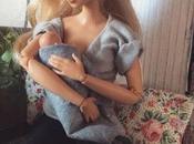 Barbie pecho: madre australiana convierte famosa muñeca mamá lactante