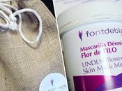 #ViernesDeSpa: Toca Mascarilla Dérmica Flor Tilo Fontdeblanc. Cosmética Natural.