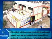 Centro poblado canta estrena renovado colegio…