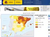 España través mapas Bachillerato