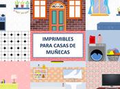 Fondos imprimibles para casas muñecas: Suelos paredes