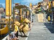 Carnaval Moogle Chocobo está llegar Final Fantasy
