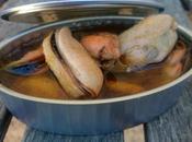 Mejillones escabeche (tradicional Crock-Pot)
