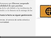ELECSUR recibe quejas Málaga, España