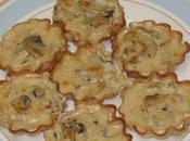Tartaletas champiñones