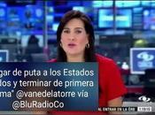 Periodista colombiana llama prostituta Melania Trump