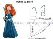 Mérida Brave disfraz.Tema