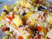 Salteado arroz mango