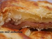 Empanada higos, pavo queso