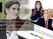 Periodista colombiana acosa Primera Dama