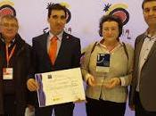 Almagro: premio mejor destino 2016 dentro sistema SICTED. Nuestra socia, Araceli Monescillo, gestora.