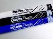 Colour Precise Eyeliner Rimmel London, delineados color.