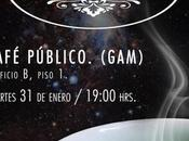 Café astronómico GAM, Santiago