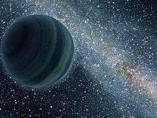 Planetas errantes, vagabundos Cosmos.