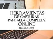 Herramientas Capturas Pantalla Completa Online