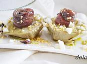 Alcachofas confitadas anchoa salazón