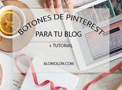 Botones Pinterest Para Blog
