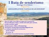 """Ruta senderismo organizada Asociación Juvenil """"Castillo Donceles"""" Chillón"""