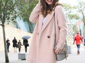 Invierno abrigo zapatillas rosas