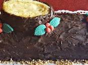 Tronco Navidad Crema Pastelera Chocolate