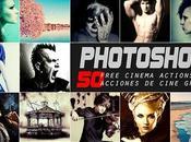 Pack gratuito Acciones Cine para Photoshop