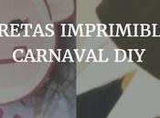 Caretas imprimibles carnaval para niños: Monstruo Yeti