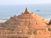 castillo arena alto mundo sido completado India