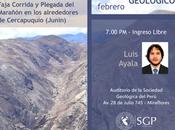 Importante tema presentarse este miércoles geológico cu...