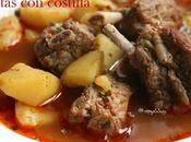 Patatas costilla adoba