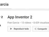 Aprende crear #Aplicaciones móviles Inventor Fran García